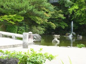 「京都・祇園祭撮影行」2009、14、「円山公園の池・1」