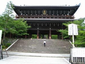 「京都・祇園祭撮影行」2009、17、「知恩院山門・1」