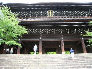 「京都・祇園祭撮影行」2009、18、「知恩院山門・2」