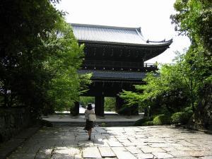 「京都・祇園祭撮影行」2009、20、「知恩院山門裏・奇跡の1枚」