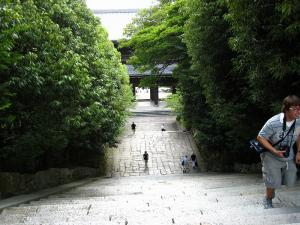 「京都・祇園祭撮影行」2009、21、「知恩院山門裏・2」