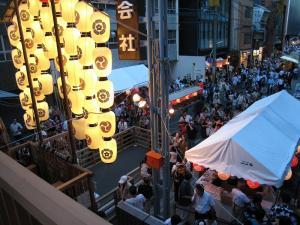 京都・祇園祭2009、宵々山・歩行者天国、菊水鉾2