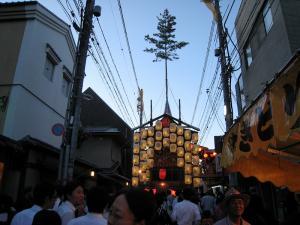 京都・祇園祭2009、宵々山・歩行者天国、山鉾1