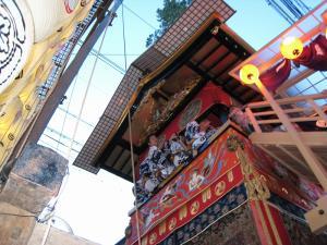 京都・祇園祭2009、宵々山・歩行者天国、山鉾2