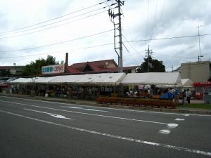 油木百菜館「百菜館祭り、2009.7.19」、土用の丑の日、2