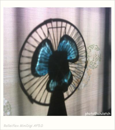 扇風機シルエット