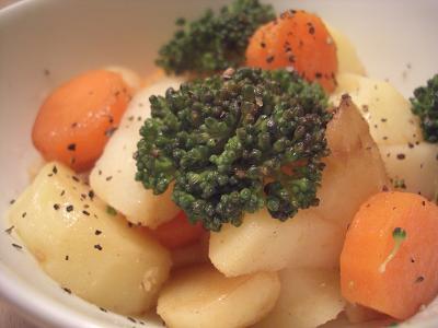 バター温野菜