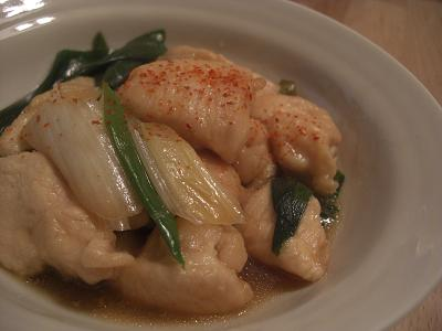 鶏のさっぱり煮