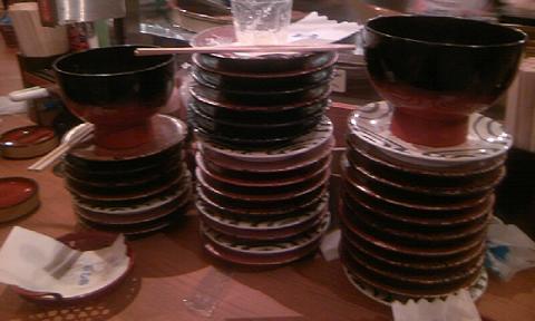 さて誰のお皿でしょうか?