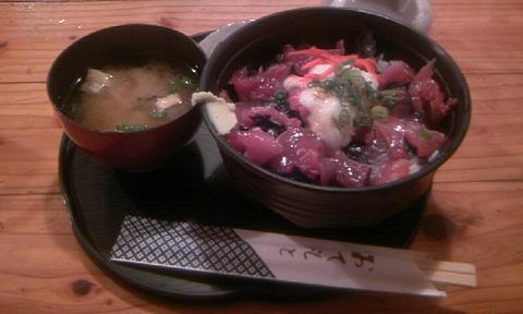 60浜ちゃん食堂かつお丼