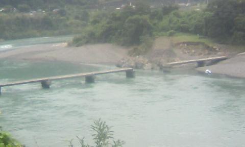 流された長生沈下橋60