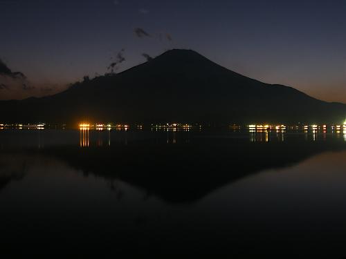 山中湖逆さ富士