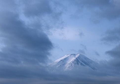 顔だけ富士山