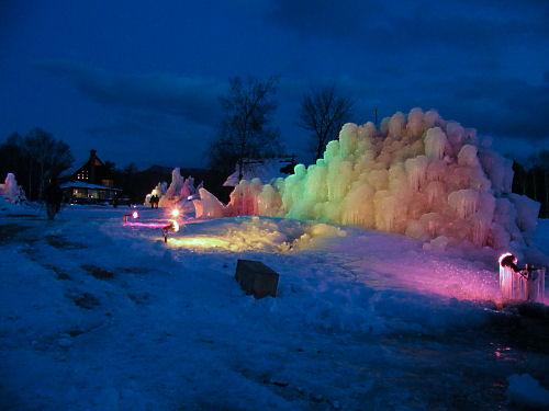 樹氷の魅惑