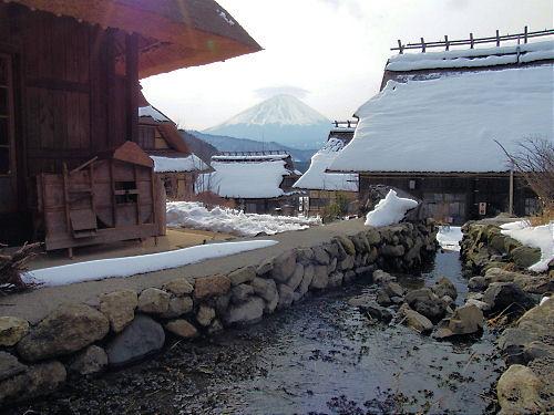 根場の富士
