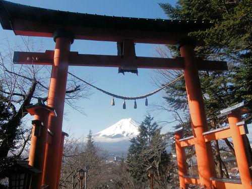 新倉浅間神社への厄払い