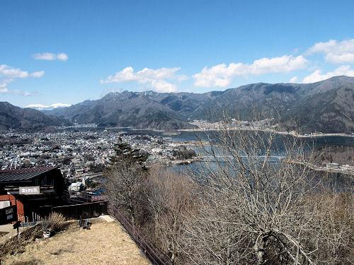 天上山より河口湖全景