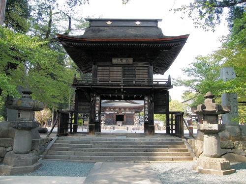 恵林寺「三門」