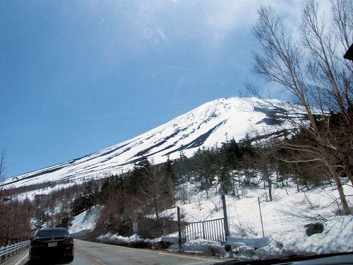 五合目からの富士山頂