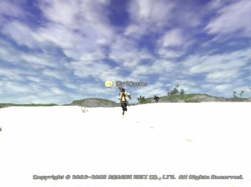 砂丘のこの空は大好き♪