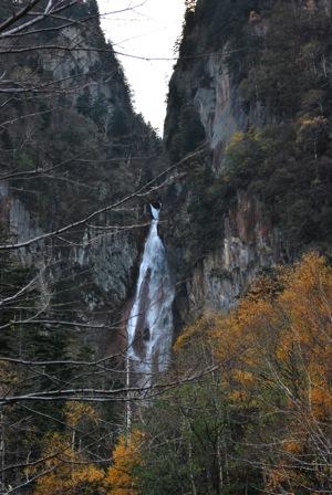 層雲峡流星の滝