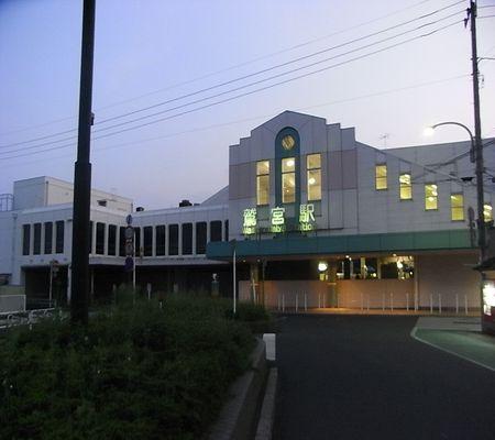 saitama ken washimiya sta mae 01 sunset yugure 2008