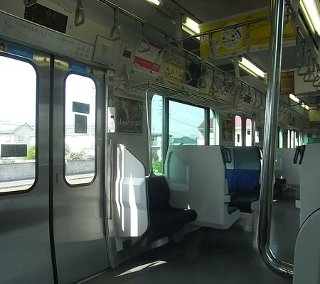 shinjuku shonan line  jr utsunomiya line 2008 train seat
