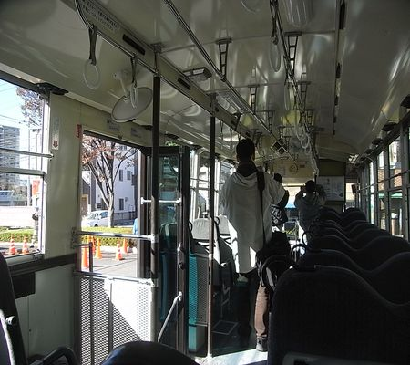 bus kasukabe kyoei high school bus 01 inside 20081122