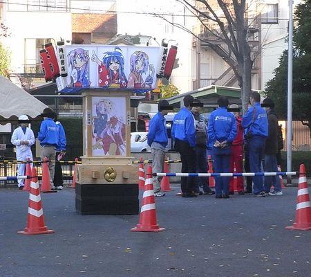 lucky star mikoshi mae kasukabe cci staff 20081122