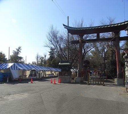 washimiya jinjya mae parkinig 20081231