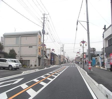 satte eki mae dori 20090129