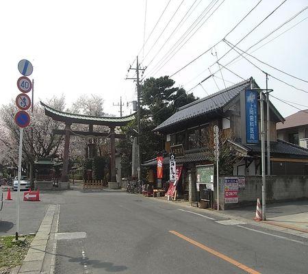 washi jinjya mae 20090408