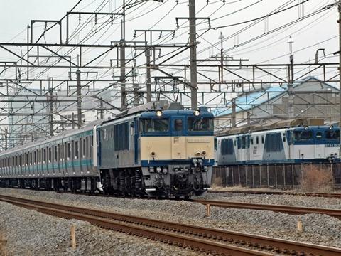 またまた配9072列車