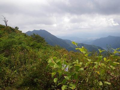 王岳から鬼ヶ岳