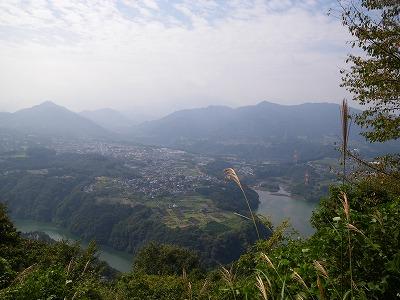 津久井湖の眺め