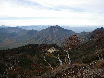 男体山から太郎山