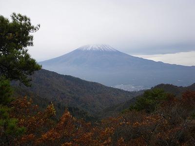 清八山から富士山