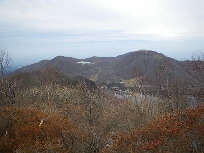 小沼と地蔵岳
