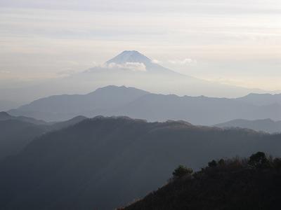 白谷丸からの富士