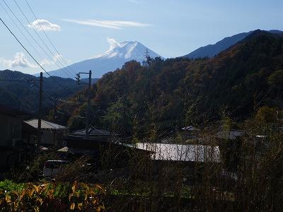 下山口(藤沢)からの富士