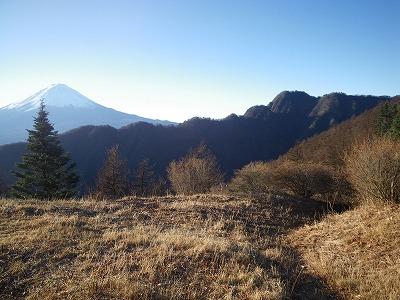 十二ヶ岳から毛無山