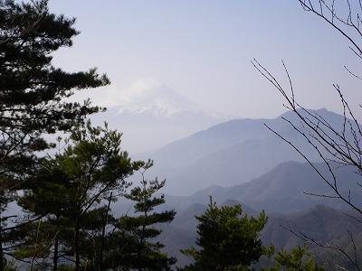 大垈山からの富士山