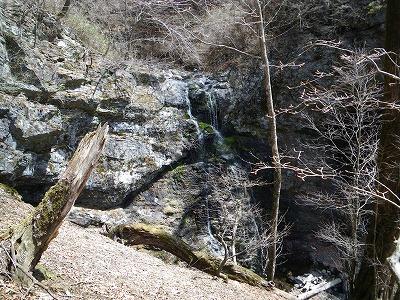 巻き途中から大滝