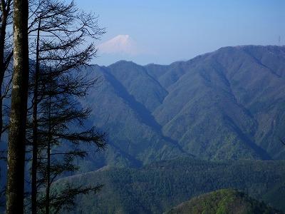 鶴寝山からの富士