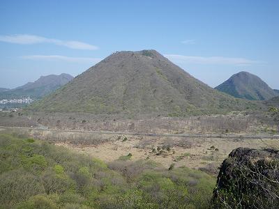 磨墨岩から榛名富士