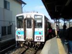 田川後藤寺駅でキハ31を写す