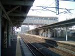 福間駅舎遠景(裏)