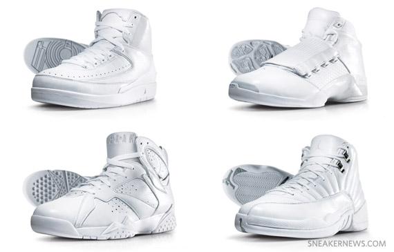 all white jordan 2