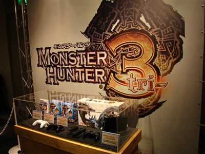 8月1日発売黒Wiiモンハン3同梱版
