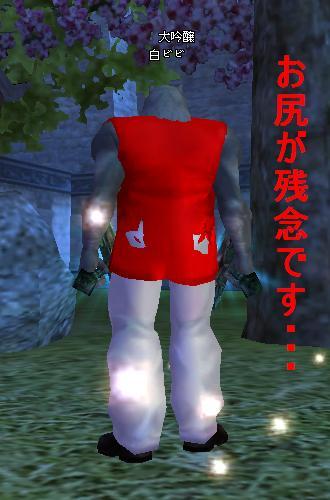 ファッション(赤&白)後ろ